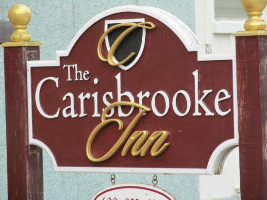 Carisbrooke Inn Bed and Breakfast: Sign