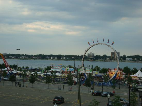 Detroit RiverFront: The Carnival at the River front