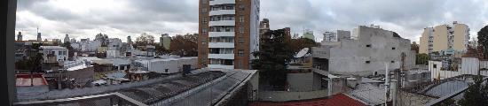 The Glu Hotel: Vista do quarto 302.