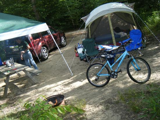 Lake George Escape Campground: Campsite W143