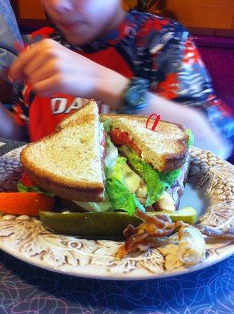 Polish Kitchen: check out the club sandwich!!