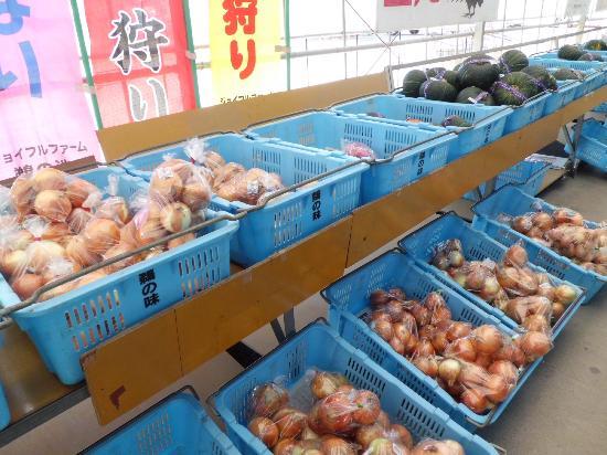 Unoike : お野菜が並んでいます