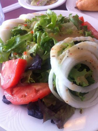 Cafe Beach Club: big salad
