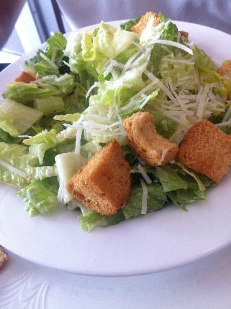 Cafe Beach Club: Caesar salad
