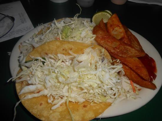 Fisherman's Market & Grill: Baja Fish Tacos