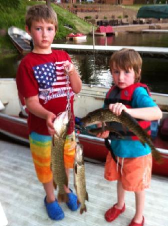 Sand Lake Resort: Fish & Fun at Sand Lake