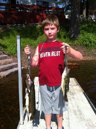 Sand Lake Resort: More fish!