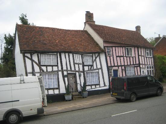 Lavenham: A Little Crooked House
