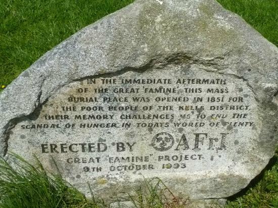 Spire of Lloyd: Pauper's Grave monument marker