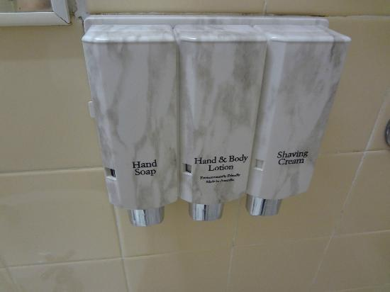 Hotel Launceston: Bathroom dispeners