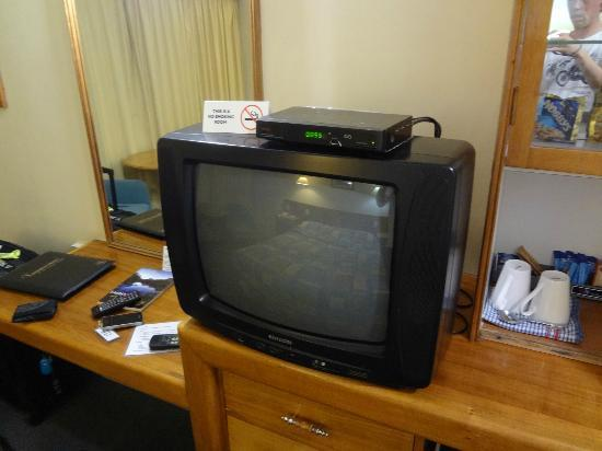Mercure Launceston: TV