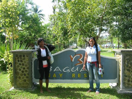 Baguala Bay Resort: The front of the resort