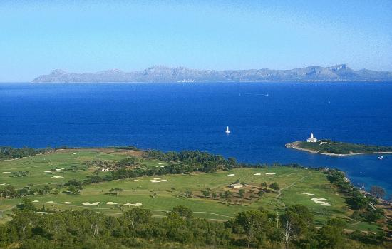 Club de Golf Alcanada: Bay of Alcudia and back nine