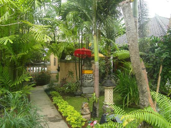 Villa Tanjung Mas: allée principale