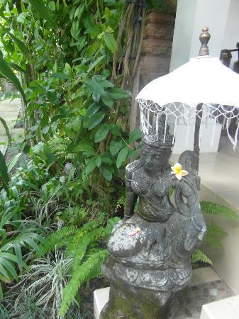Villa Tanjung Mas: jardin