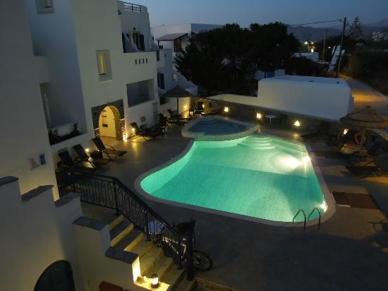 Liana Hotel pool - view from above