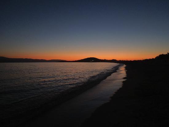 Liana Hotel: Agios Prokopios sunset