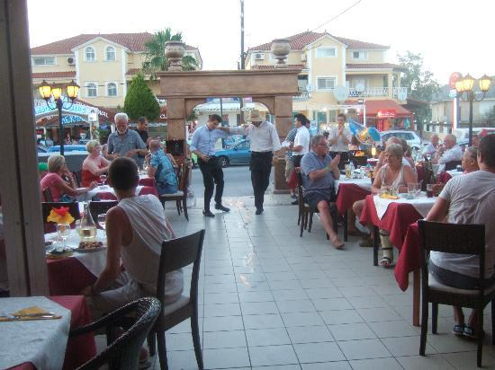 Ambrosia Restaurant - Greek Dancing