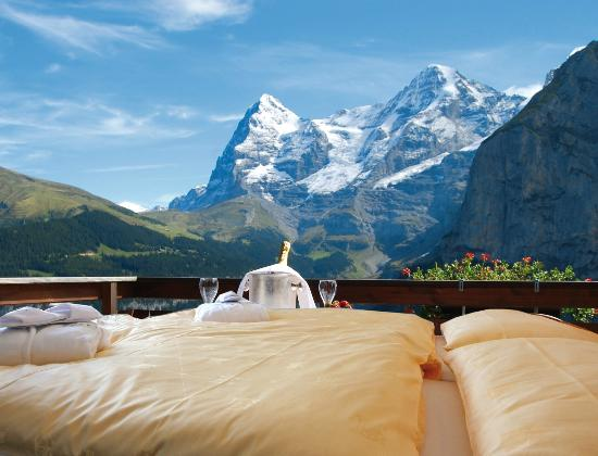 Hotel Eiger: Great views from Superiors Rooms and Suites
