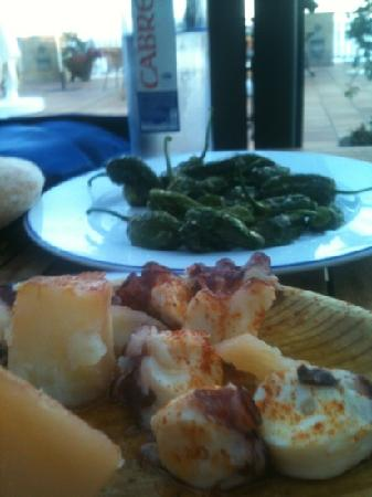 هوتل تالاسو أطلانتيكو: Gastronomía gallega 
