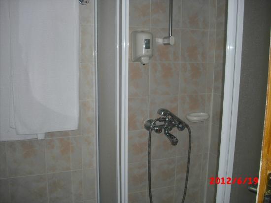 Iskar Hotel: Decent bathroom with shower