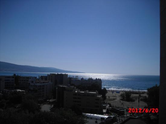 Iskar Hotel: View from room on the 13th floor