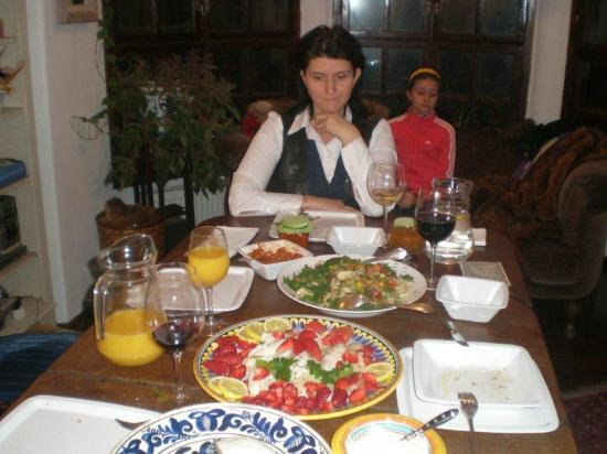 The Country Hotel: traditional food