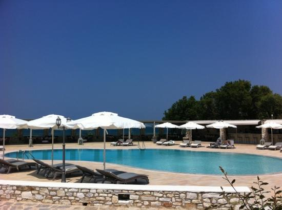 Saint Andrea Seaside Resort: vue de notre chambre