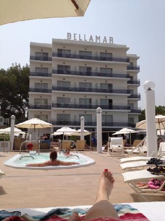 Bellamar Hotel : my view right now