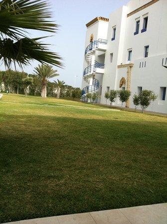 Moussafir Essaouira Hotel : jardin