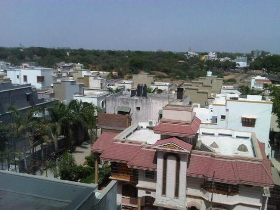 Royal Orchid Central, Vadodara: View from Room