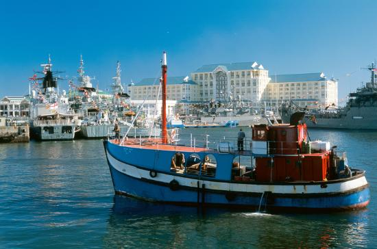 The Table Bay Hotel: Exterior View-Harbour