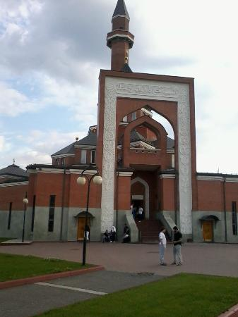 ‪Memorial Mosque On Poklonnaya Hill‬