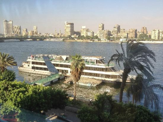 Chinese Cuisine, Shanghainese Cuisine: Restaurant's Window view on the River Nile