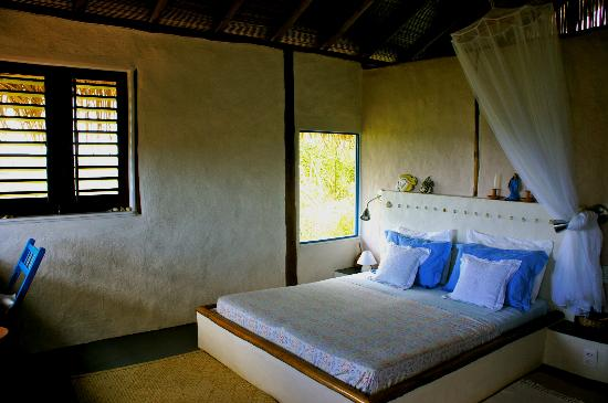 Ilha de Boipeba, BA: interior bungalow
