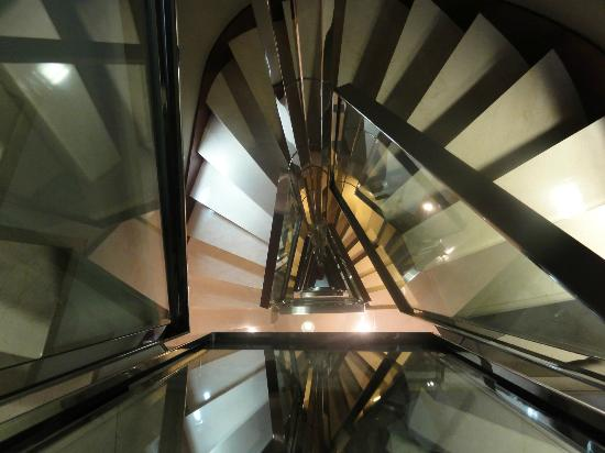 Hotel Zenit Murcia: Staircase from 7th floor