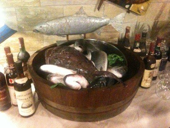 La Taverna dei Gabbiani: Pesce fresco!