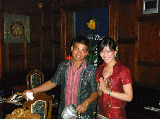 Baan Thai Ballsbridge: Host and hostess