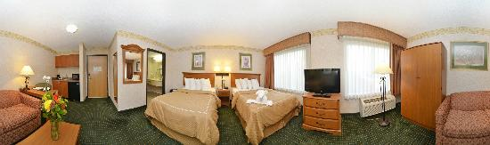 Comfort Suites: 2 Double Suite w/ Pull Out Sleeper Sofa