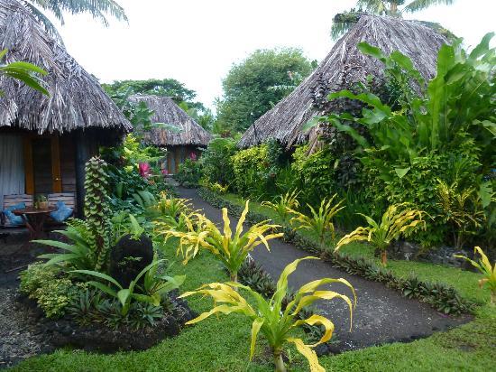 Paradise Taveuni: traditional style bures