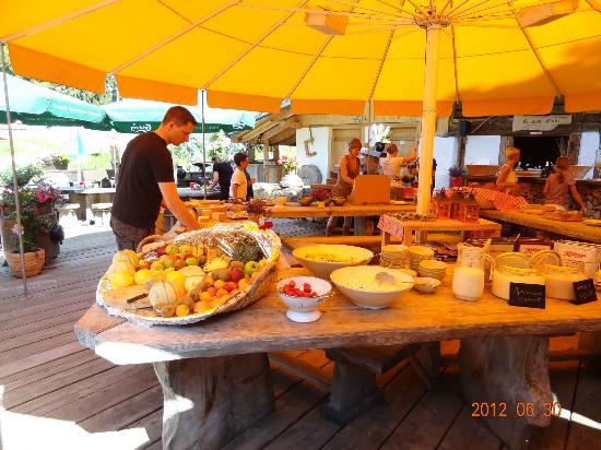 Bergrestaurant Chessel: fruits etc. etc.