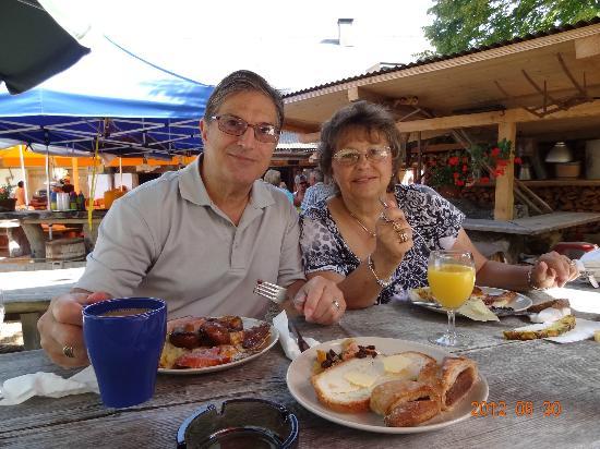 Bergrestaurant Chessel: great brunch