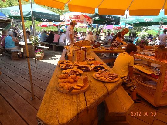 Bergrestaurant Chessel: brunch