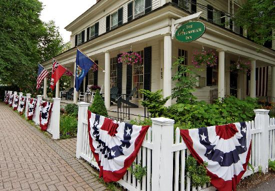 The Brunswick Inn : Enjoy the 4th of July in our historic Inn!