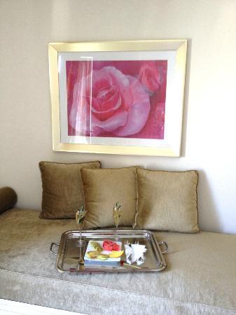 La Residence Mykonos Hotel Suites: Begrüssung