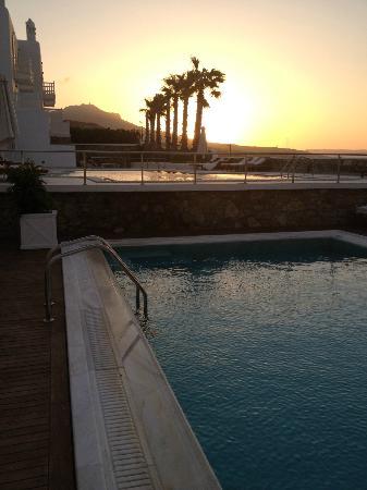 La Residence Mykonos Hotel Suites: Sonnenaufgang