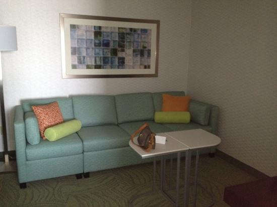 SpringHill Suites Billings: living room