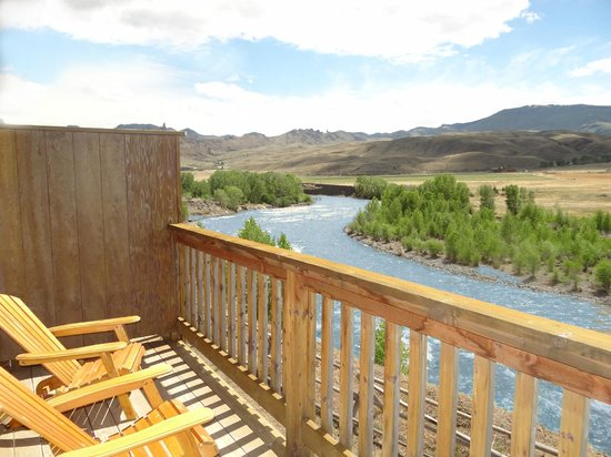 Yellowstone Valley Inn & RV Park: View from hotel room
