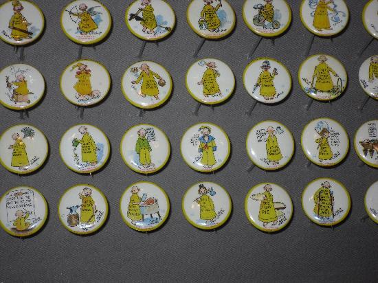 Geppi's Entertainment Museum : Yellow Kid Buttons