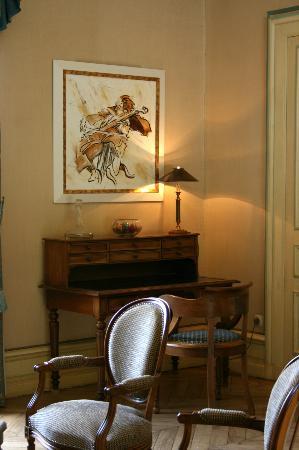 Chateau de La Rozelle: Salon